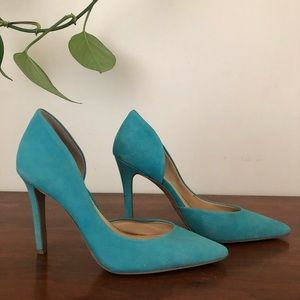 Jessica Simpson d'Orsay Pointed Toe Pump